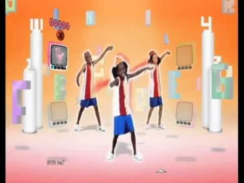 ABC Song Just Dance Kids with body movements....seems like a good wake up song for the morning