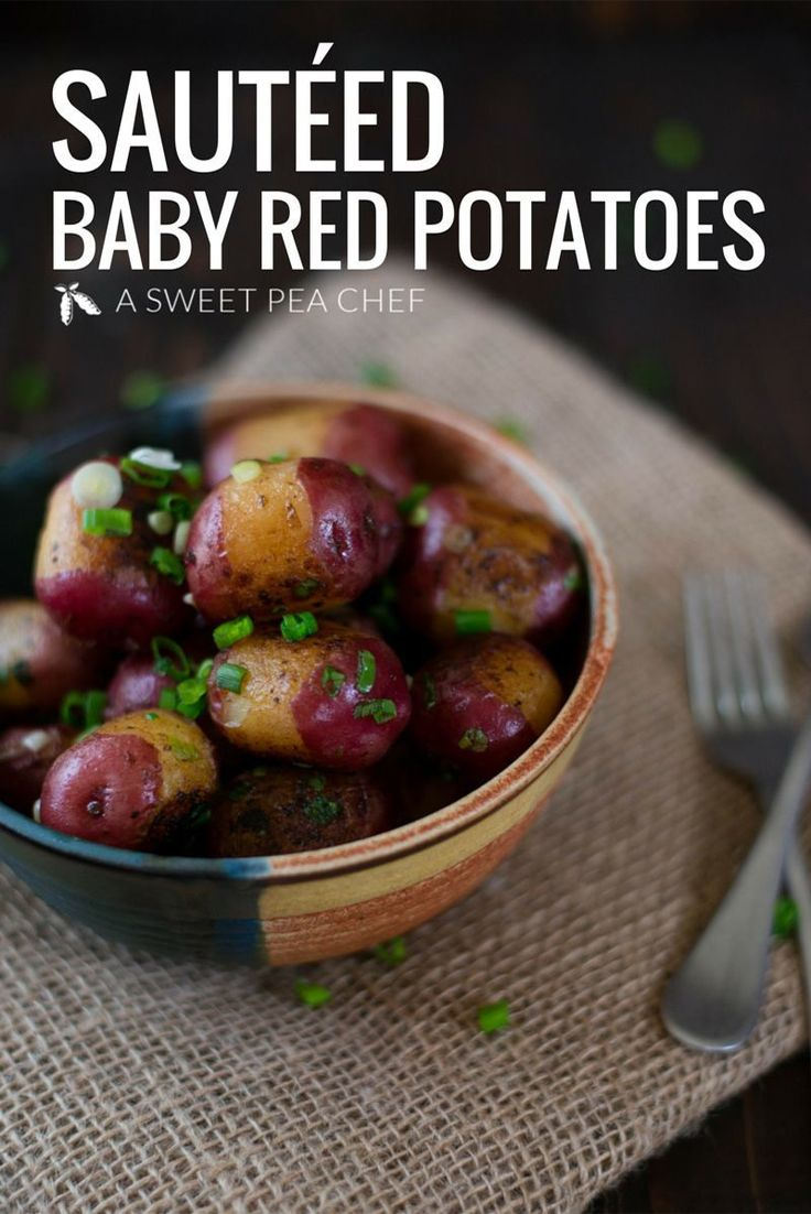 Sauteed Baby Red Potatoes Recipe And Photo By Lacey Baier