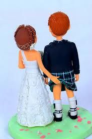 scottish wedding cake toppers - Google Search
