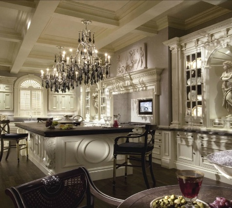 17 best images about elegant rooms on pinterest paint for Luxury elegant kitchen designs