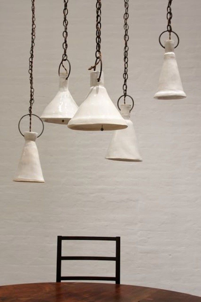 BDDW delivers again: This time, it's the vaguely Japonesque ceramic lights by Natalie Page we're coveting.