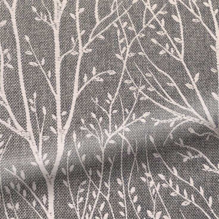 Sissinghurst Dark Grey Curtains