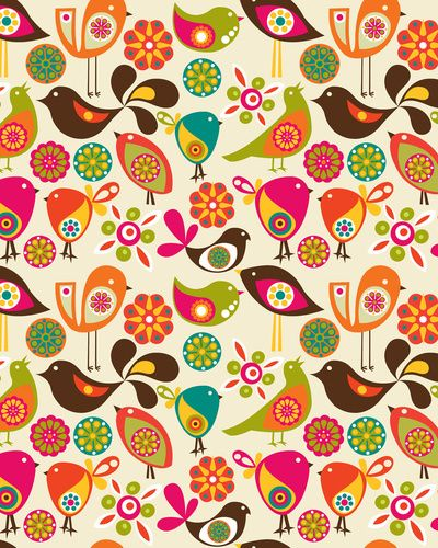 <3 this print! Probably going to do bird theme in my daughters nursery. :)