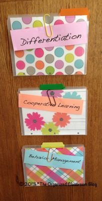 PD Paper Solutions - The Organized Classroom Blog