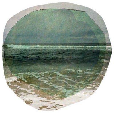 http://26.media.tumblr.com/tumblr_ljl78svaxx1qhuqm2o1_400.jpg: Ocean Colors, Circles, Beaches, Water Photography, The Ocean, Art, Nautical Design, Eye, The Sea