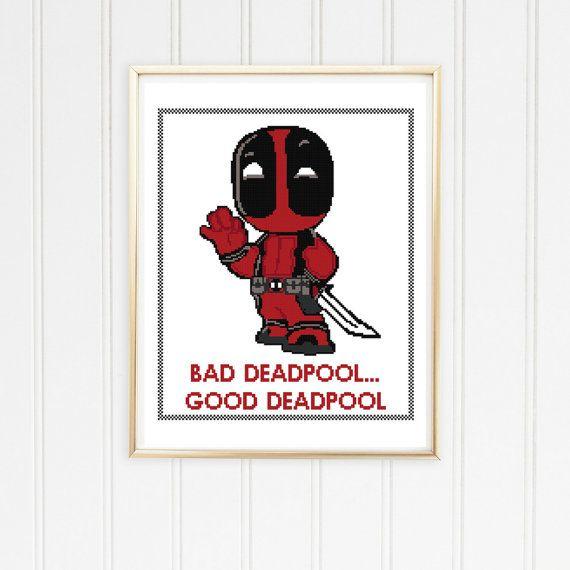 90 best Deadpool (Cross Stitch, Perler Beads, etc) images on ...