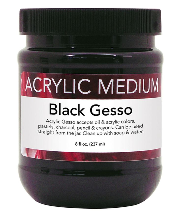 Love this Black Acrylic Gesso by Art Advantage on #zulily! #zulilyfinds