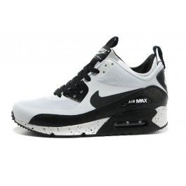 nike air max 90 premium mesh black-gray-white ringed