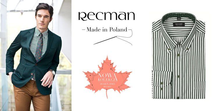Nie zawsze musi być bardzo formalnie, ale zawsze powinno być stylowo. Na luźniejsze okazje polecamy koszule Lugo w paski. Sprawdź: http://bit.ly/Recman_LugoBordowy, http://bit.ly/Recman_LugoNiebieski, http://bit.ly/Recman_LugoCzerwony, http://bit.ly/Recman_LugoZielony.