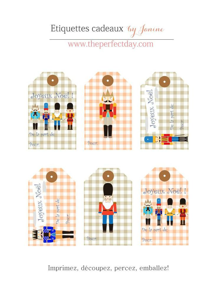 DIY printable {Joyeux Noël} & petits cadeaux… | The Perfect Day by Janine