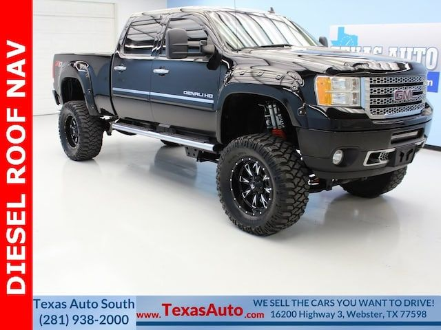 Used 2013 Gmc Sierra 2500hd Denali For Sale In Webster Tx Vin