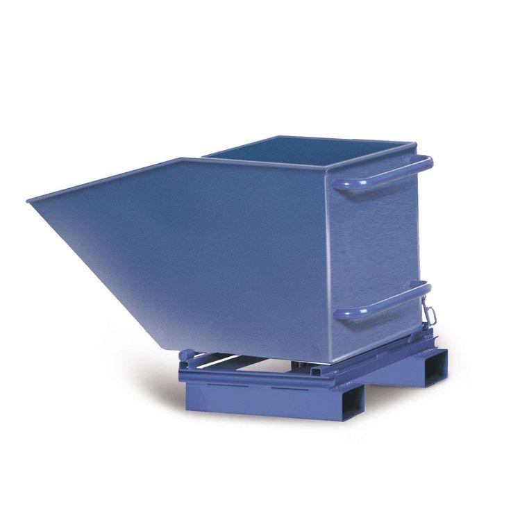 GTARDO.DE:  Gabelstapler-Muldenkipper MS184, 400 l Inhalt, stationär, LxBxH 1330x765x722 mm 447,00 €