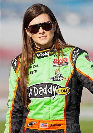 Danica Patrick. my idol. if i could be anyone in the world it would definitely be her.