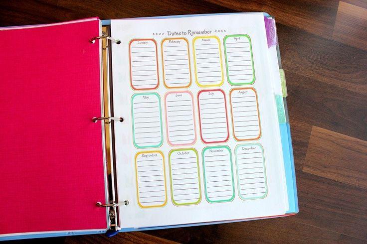 2014 Day Planner {Free Printables!} | Gluesticks