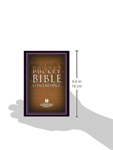 HCSB Pocket Bible Concordance