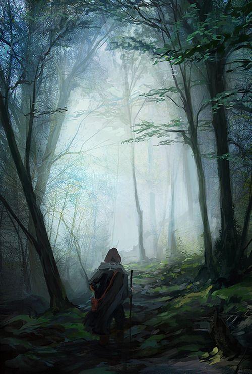 Algumas florestas naturais sr assemelham às de um outro plano.