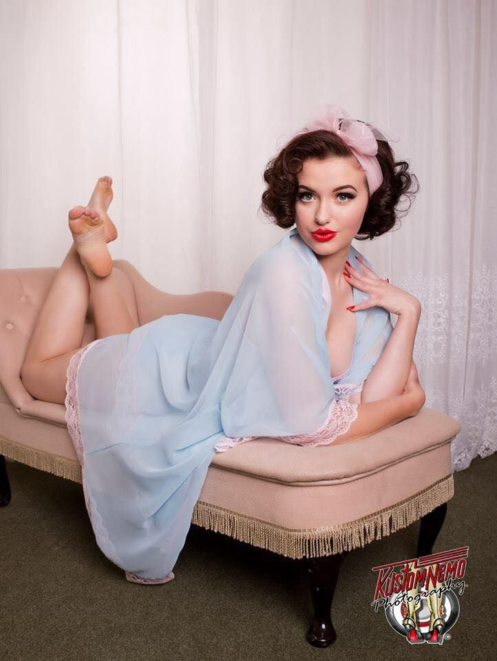 myretrocloset:  Frenchie L'amour for My Retro Closet by Kustomenemo Photography Shop the look!