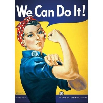 Poster - We Can do it - Fnac -