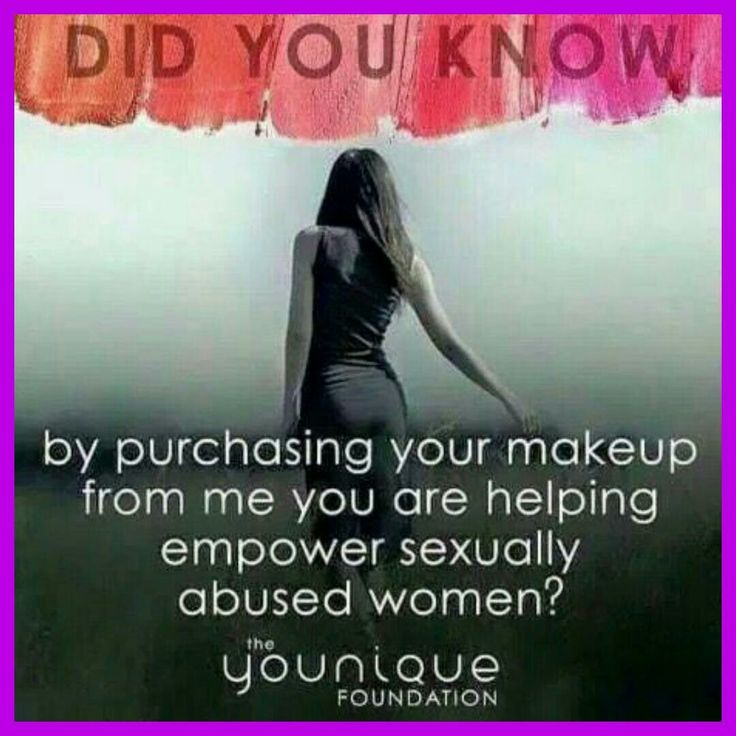 A to Z of Younique Y is for Younique Foundation The Younique Foundation is a retreat for sexually abused women. A safe place for them to start the healing process. Your orders help to support the retreat. So much more than make-up!