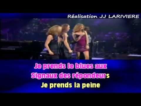 CELINE DION DESTIN I G JJ Karaoké - Paroles - YouTube