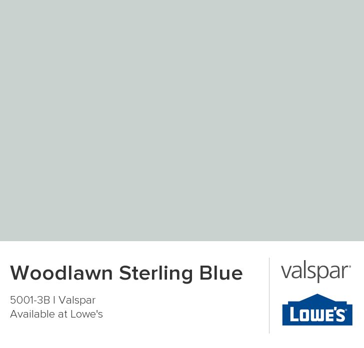 Woodlawn Sterling Blue Paint