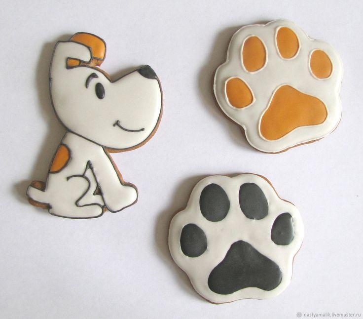 Купить Пряники Год Собаки в интернет магазине на Ярмарке Мастеров