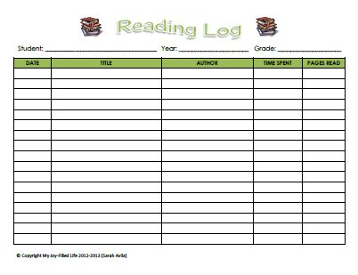 The 25+ Best Reading Logs Ideas On Pinterest Log Reader, Reading   Printable  Book  Printable Book Report Forms