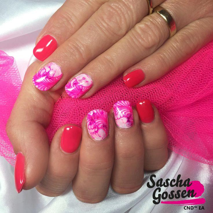 #CND #SHELLAC Brand 14+ Day Nail Color #PinkBikini