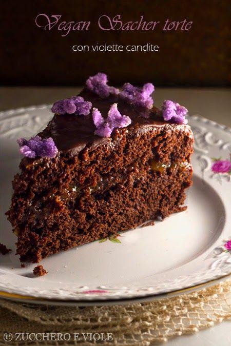 zucchero e viole vegan-vegetarian blog: Sacher vegana