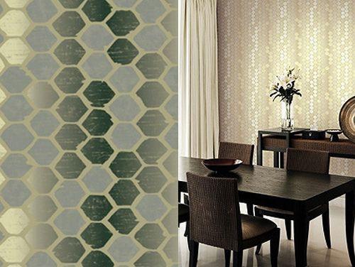 die besten 25 gespiegelte tapete ideen auf pinterest. Black Bedroom Furniture Sets. Home Design Ideas