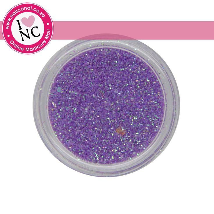 Nail art Glitter - Purple