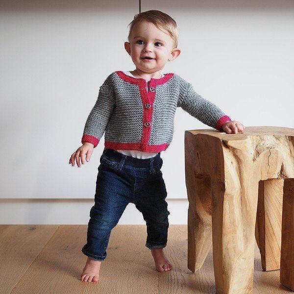 """Strickanleitung Kinderjacke aus der Qualität """"Ideal"""" mit der Modellnr.: 757275 Das Modell ist in den Größen 62/68 bis 98/104 ausführlich beschrieben. Schwierigkeitsgrad: leicht Die passende Wolle finden Sie in unserem Fischer Wolle Onlineshop. Sie be"""
