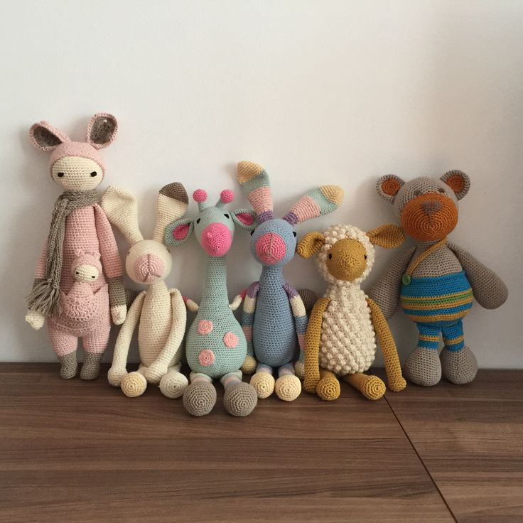 Amigurumi, toys, örgü, hayvan oyuncaklar, kangoroo, bunny, giraffe, sheep, teddy bear