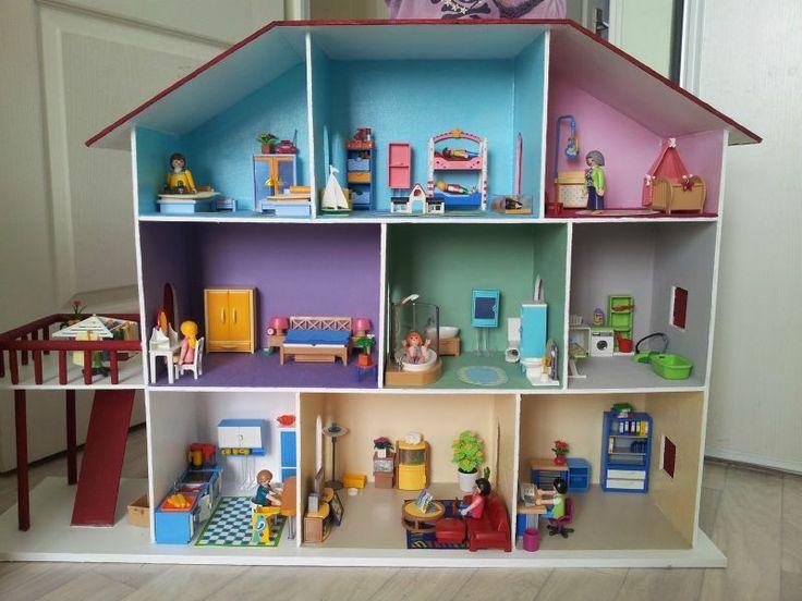Les 25 meilleures id es de la cat gorie toboggans faits maison sur pinterest - Jeux de construire des maison ...