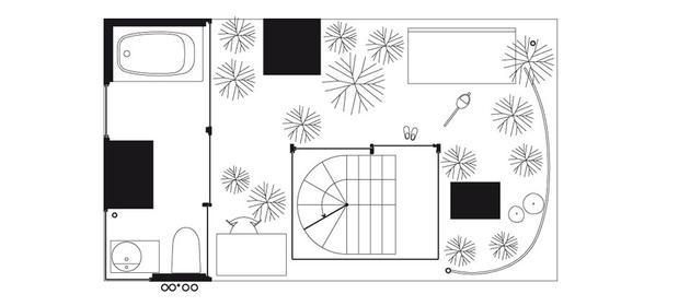 Garden & House in Tokyo Floor 3 - Ryue Nishizawa