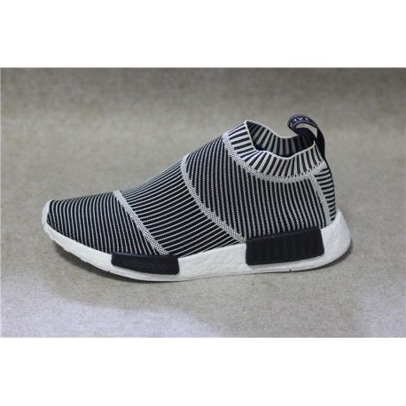 Adidas NMD City Sock Boost Primeknit Reflective MEN Black /Off White /White  - Authentic Yeezy 350 750 950 Authentic Air Jordan Shoes Online Store