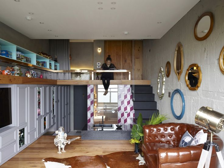Eclectic Interior Of A Studio Apartment Interiordesign