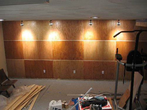 Our Basement Project (graphic Heavy)   Basements Forum   GardenWeb ·  Plywood WallsGarage WallsInterior ...