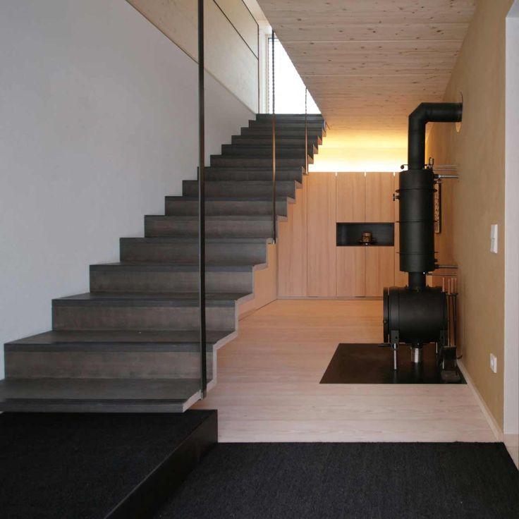 Die besten 17 bilder zu treppen auf pinterest haus for Eingangsbereich haus modern