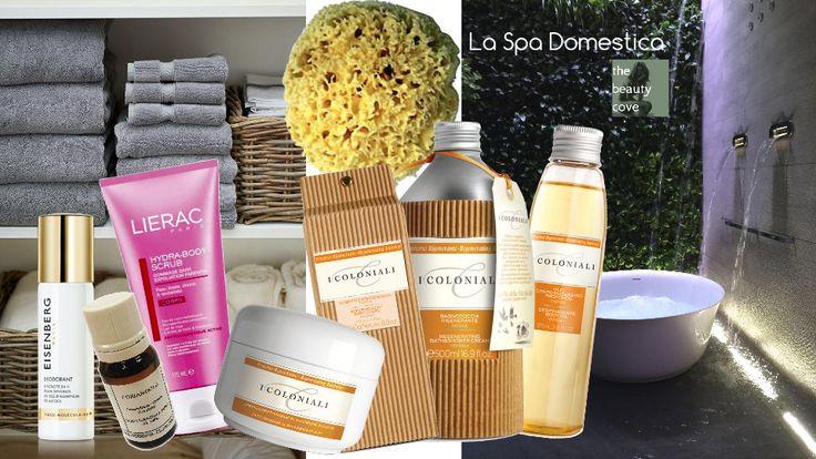 LA SPA DOMESTICA… RELAX IN BELLEZZA Consigli utili per organizzare una spa domestica per due ore di relax totale in bellezza