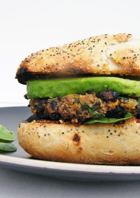 Bad boy black bean burgers, portobelo mushroom burgers and tempting tacos - lots of easy veggie treats for your summer BBQ.