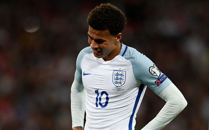 Download wallpapers Dele Alli, footballers, English national team, soccer