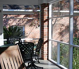 How to Screen a Porch - Spring Screening, Lowe's Creative Ideas for Your Home & Garden | In The News | Screen Tight