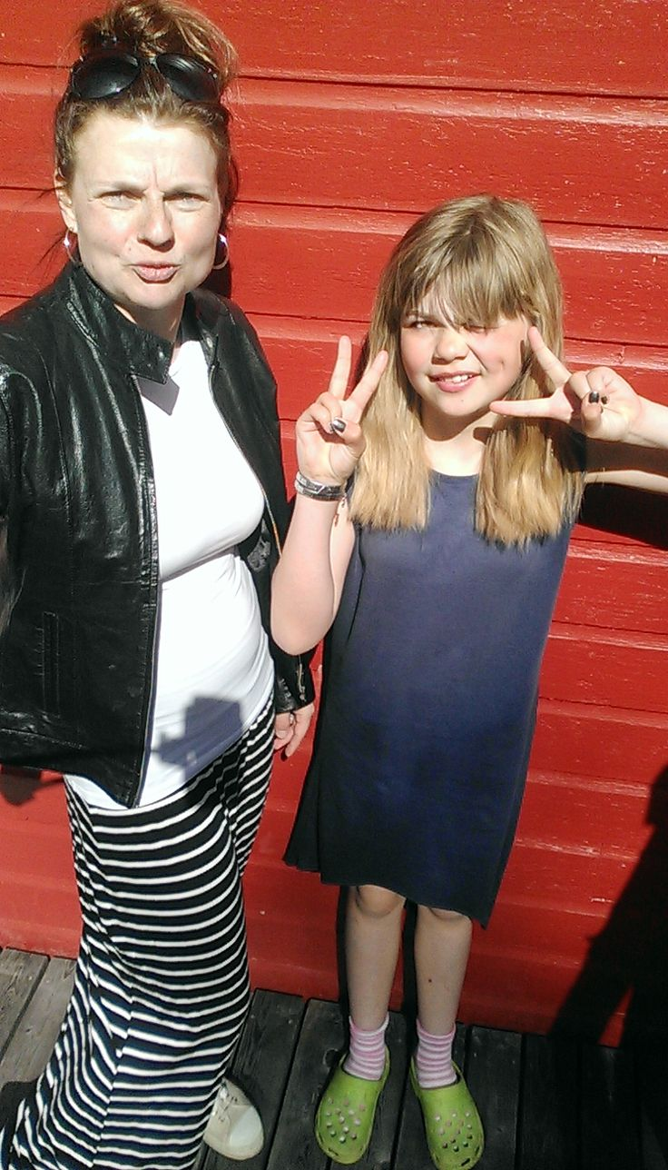 I made mine maxi skirt and my daughters skirts to  the school prize day