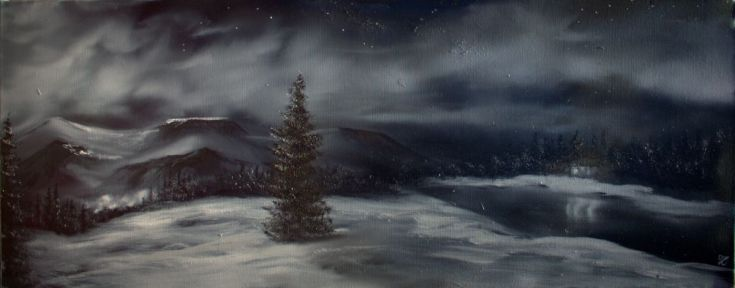 Buy Winter calm, Oil painting by Heidi Irene Kainulainen on Artfinder. Discover thousands of other original paintings, prints, sculptures and photography from independent artists.