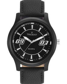 Trident Zagreb watch - this stunning black piece has some interesting design features and will finish off any look perfectly, Get the low down at http://mytrident.co.za/products/zagreb-mens and add it to your collection at http://www.zando.co.za/Trident-Zagreb-Mens-Watch-Black-Leather-123436.html