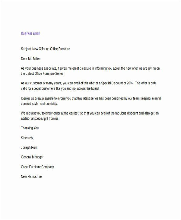 Formal E Mail Template Awesome 9 Business Email Examples Samples Pdf Doc Email Template Business Mail Template Business Letter Template