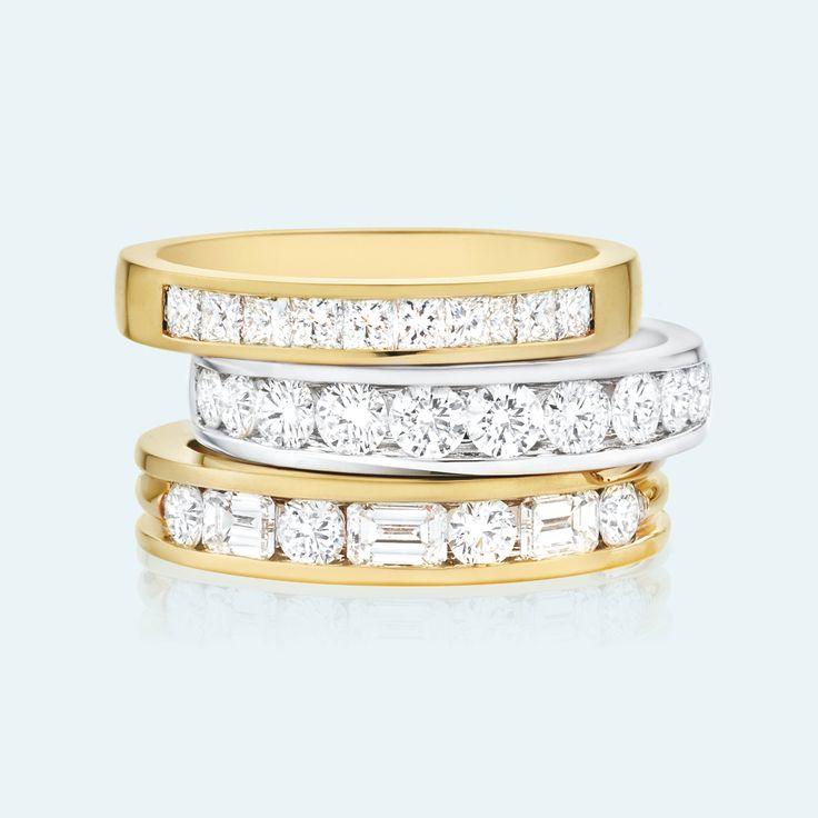 Whether you're celebrating an anniversary, birthday, or the birth of a child, an Eternity ring epitomises the fundamental idea of true love; that it is without end, everlasting and eternal. The endless loop of an eternity ring, with no beginning and no end symbolises eternal commitment, devotion and love. View the entire Collection on our website, link in bio. #mazzucchellis #jeweller #mazzucchellisjeweller #jewellery #love #birthdaygift #anniversarygift
