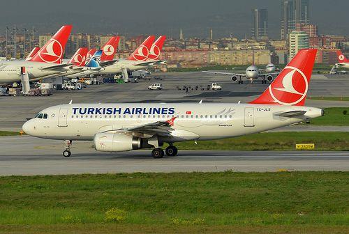 Turkish Airlines Airbus A319-132 TC-JLS Salihli