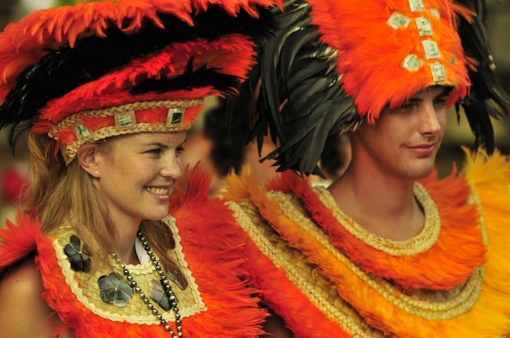 Tahitian Wedding ceremony